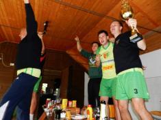 Chabeřice slavili titul v krajské soutěži