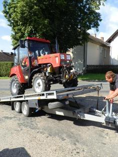 Nákup malotraktoru