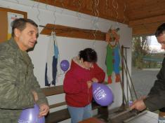 Vypouštění balónků s přáníčky Ježíškovi