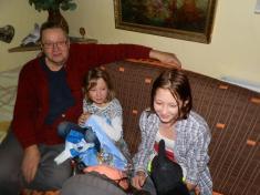 Návštěva Mikuláše, anděla a čertů 2016