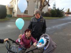 Vypouštění balónků s přáníčky pro Ježíška