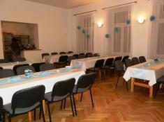 Připravený sál