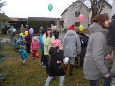 Vypouštění balónků s přáníčky pro Ježíška 2017