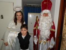 Mikuláš, anděl a čerti 2017