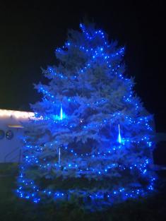 Rozsvícení vánočního stromu v Chabeřicích 2019