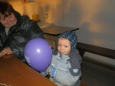 Vypouštění balónků 2014