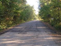 Oprava silnice k Řendějovu