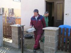 Hasiči z Chabeřic uskutečnili sběr starého železa a papíru